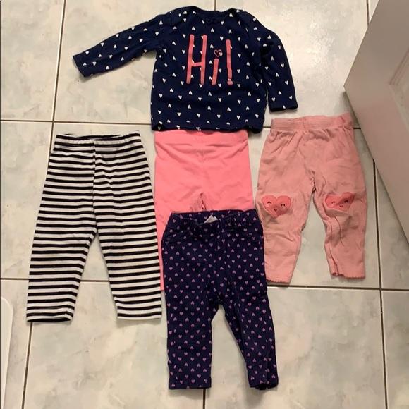 Carter's Other - 12 month old bundle set